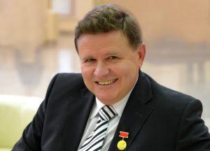 Директор РНПЦ травматологии Александр Белецкий. Задержан КГБ