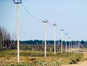 Использование опор ЛЭП серии 95-20. Купить в Белоруссии