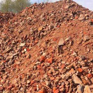 Щебень вторичный 0-80 кирпич и бетон в Минске