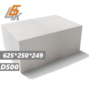 Газобетонные блоки D500 625х250х249 МКСИ