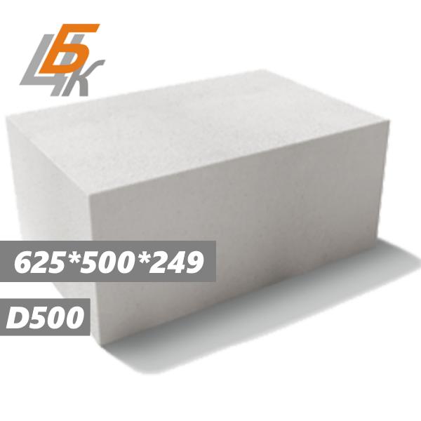 Блоки газосиликатные 625-500-249 Минский КСИ.