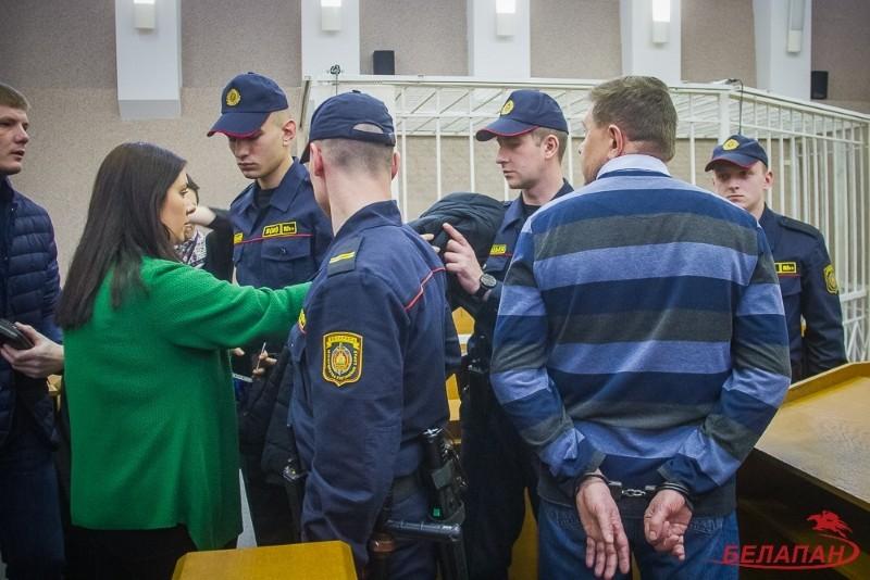 В Минском городском судее Александр Белецкий получил приговор 7,5 лет лишения свободы