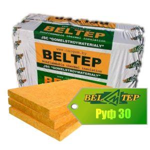 Утеплитель БЕЛТЕП® РУФ-30 из минеральной (каменной) ваты. Beltep Ruf 30