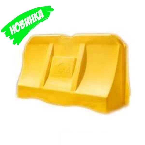 """Желтый дорожьный водоналивной барьер """"Дорбокс"""""""