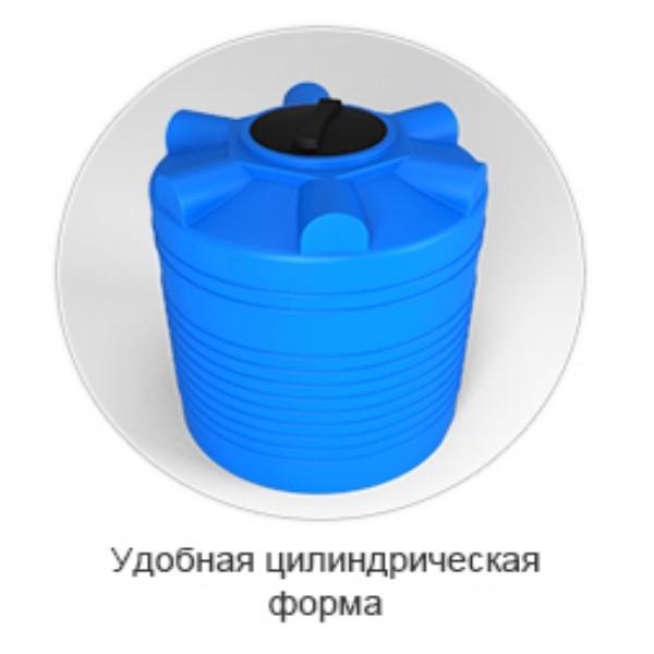 Удобная форма пластиковых емкостей ЭВЛ. Минск