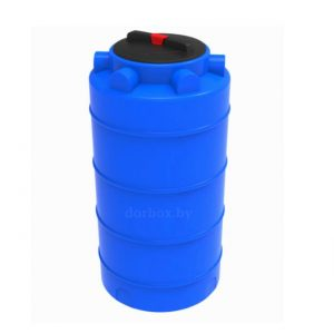 Вертикальная пластиковая бочка для воды серии ЭВЛ-Т на 200 литров в Минске