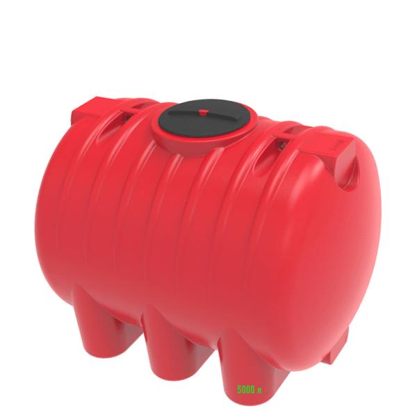 Емкость на 5000 литров серии жидких удобрений КАС красная купить в Минске