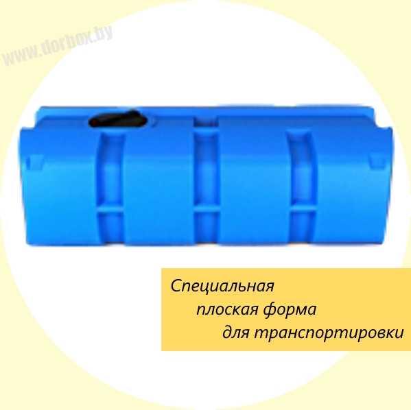 Емкость серии AUTO 1000 л пластиковая. Купить в Минске и по Беларуси
