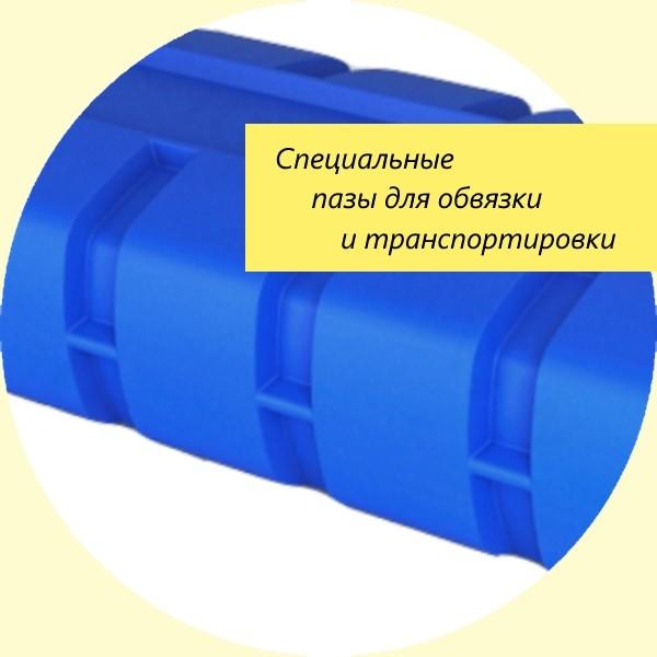 В конструкции емкости предусмотрены пазы для крепления на автомобиль. Серия AUTO на 1000 л. Минск и РБ