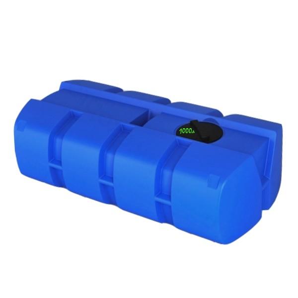Бочки, емкости из полиэтилена для перевозки на автомобиле. Резервуар на 1000 л