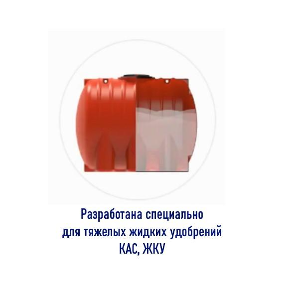 Разработана специально для тяжелых жидких удобрений КАС, ЖКУ