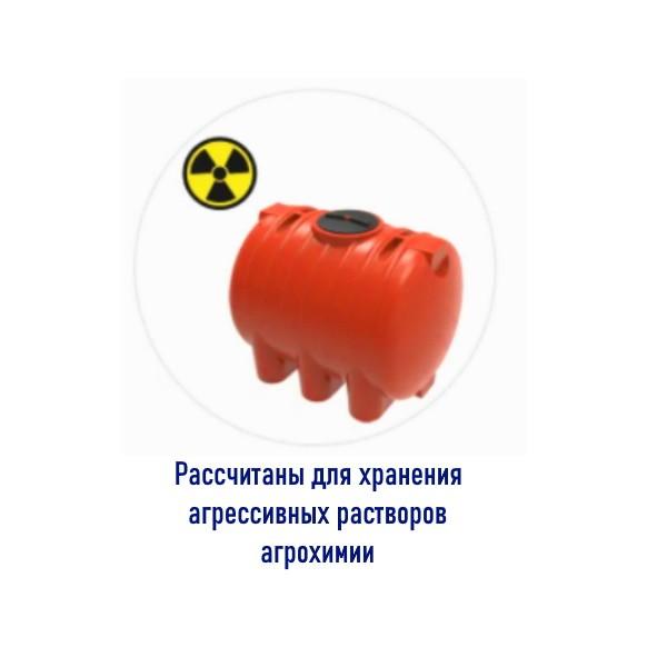 Емкость разработана для хранения агрессивных растворов агрохимии