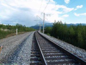 Применение щебня при строительстве железнодорожных путей