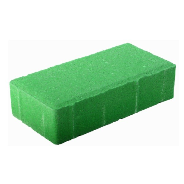 Бетонная плитка для тротуаров зеленая 6мм
