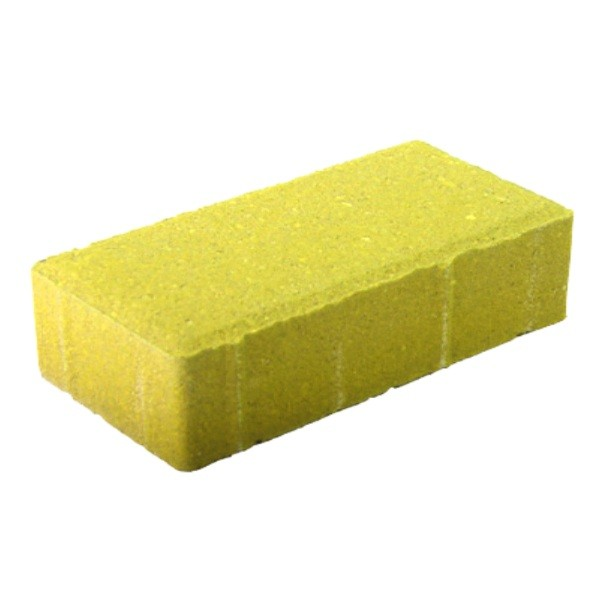 Бетонная плитка желтая 6мм для тротуаров