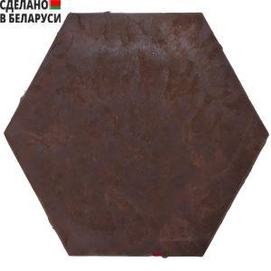Бордовая полимерно-песчаная плитка в Минске