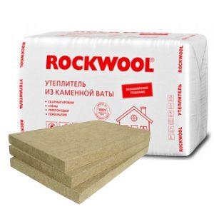 Утеплитель Роквул® Эконом из минеральной (каменной) ваты.