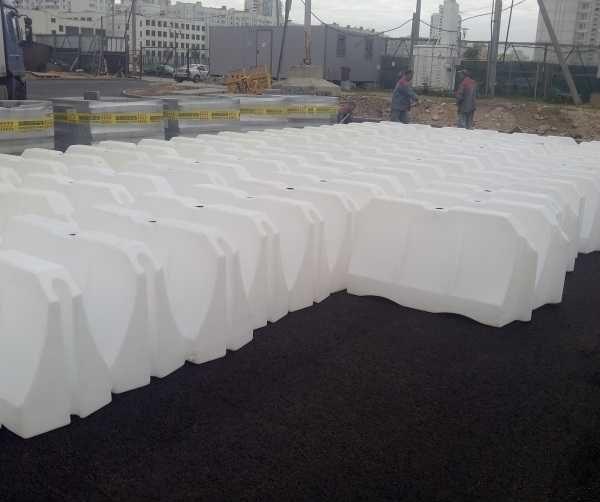 Блок водоналивной белого цвета БРД 1200