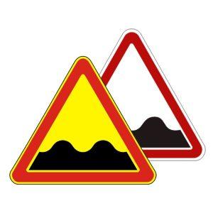 Картинка Знак дорожный - Неровная дорога 1.16.2 беларусь, 1.16 россия