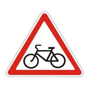 Пересечение с велосипедной дорожкой - 1.22 (1.24 Россия). Картинка, описание